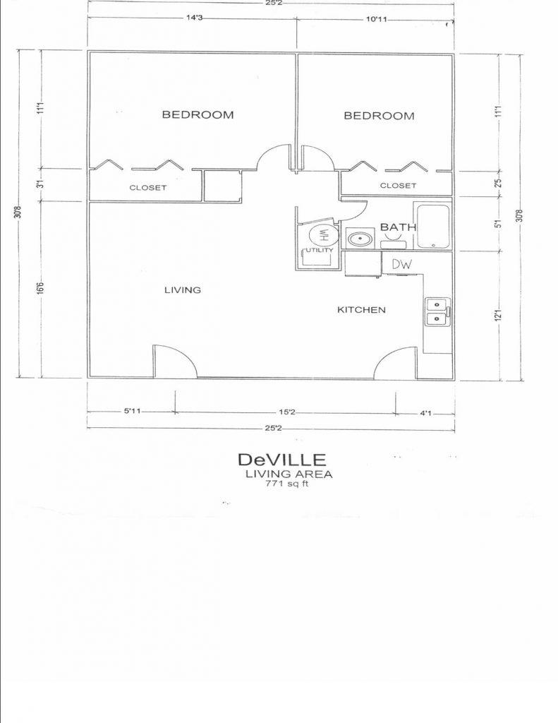deville floor plan