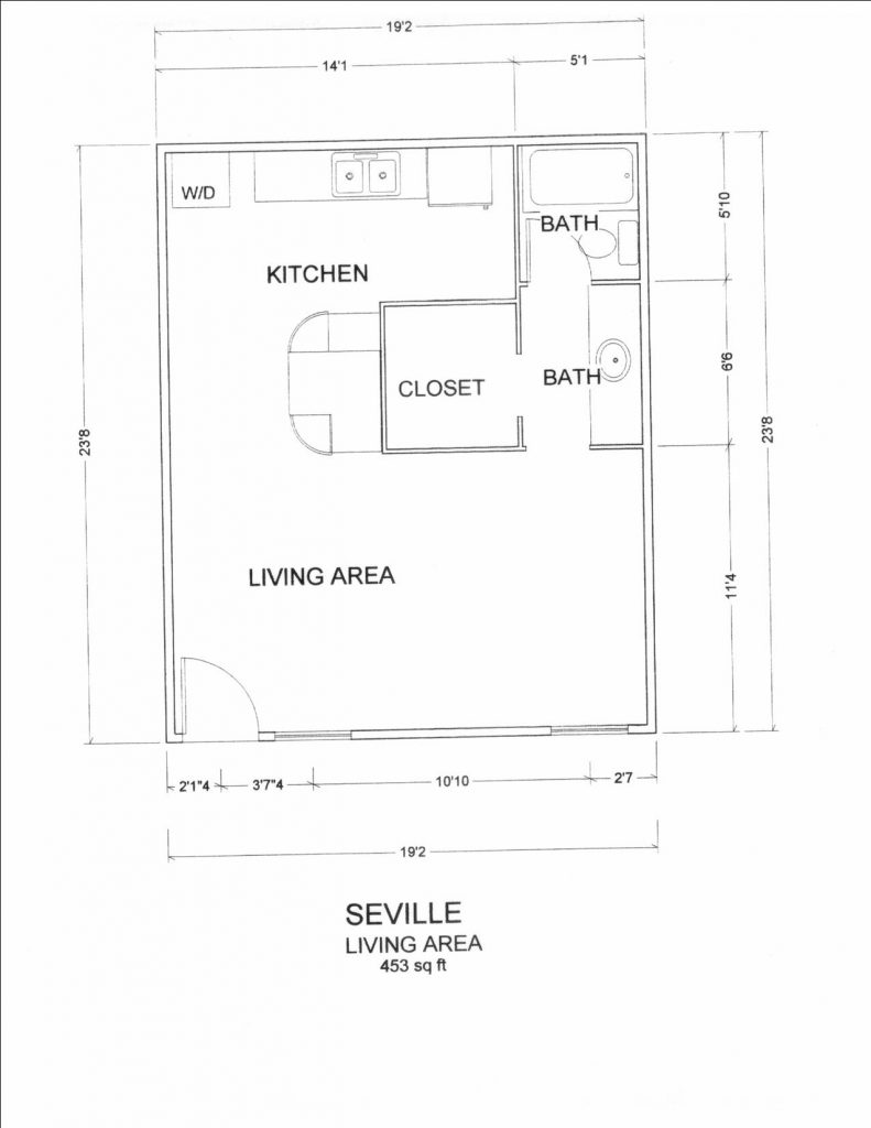 seville floorplan